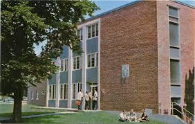 Bridgewater State University Map by Scott Hall Men U0027s Dormitory Bridgewater State College Digital