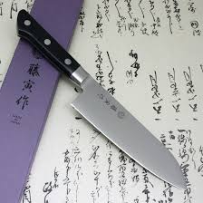 tojiro fujitora japanese kitchen chef knife santoku 3layered vg10
