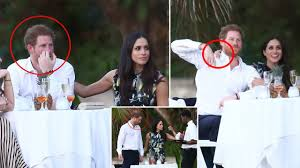harry and meghan markle awkward moment prince harry bored of his girlfriend meghan markle