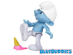 smurfs movie toys clumsy 3 ice cream grouchy 3 ice cream
