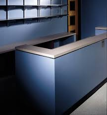 Building A Reception Desk Tmi Systems Design Corporation Products Solutions Millwork