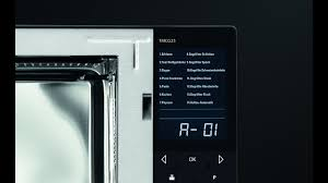 design mikrowelle caso tmcg25 menu touch design mikrowelle im wave design 3in1