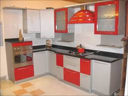 red and white kitchen cabinets ideas the best home design