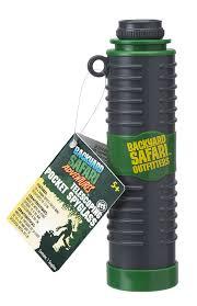 amazon com backyard safari telescoping pocket spyglass toys u0026 games