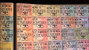ticket stub album the best stub ticket collection on youttube 850 stubs