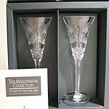 millennium toasting flutes 2 prosperity 9 25
