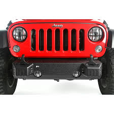 jeep wrangler front bumper rugged ridge 11540 28 xhd front bumper base tow point covers 07