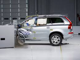 volvo jeep 2006 2014 volvo xc90 driver side small overlap iihs crash test youtube