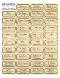 free pantry labels spice jars chalkboard printable and