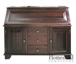 Secretarys Desk Custom Desks By Homestead Furniture Made In Usa