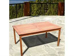Patio Table With Built In Heater Vifah Patio Furntiture Patioliving