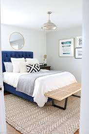 headboards cool cozy bedroom navy tufted sofa with trendy bed