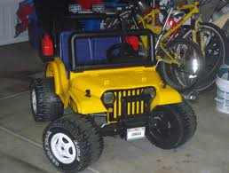 barbie jeep power wheels 90s modified power wheels project sarge metal frame jeep finished