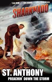 Sharknado Meme - deluxe st anthony vs the sharknado catholic memes wallpaper site