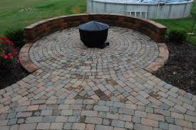 brick for patio hoehnen landscaping