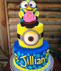 minions birthday cake top minion cakes cakecentral