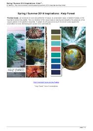 current color trends spring summer 2014 inspirations kelp forest pagina 1 summer 14