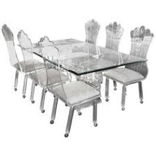 Dining Table And Chairs On Wheels Casual Swivel Caster Glass Top Dinette Set Dinetteonline Com