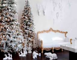 christmas home decorators snow themed christmas tree christmas room decorating ideas with