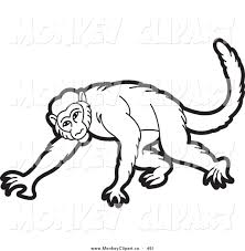 hanging monkey clipart black and white clipart panda free