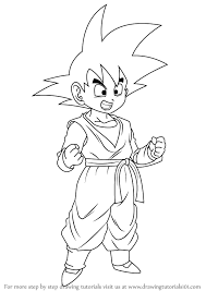 learn draw son goten dragon ball dragon ball