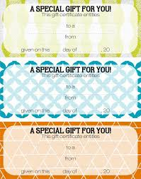 birthday gift certificate template simple balloons birthday gift