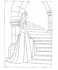 coloring sleeping beauty coloring pages 16
