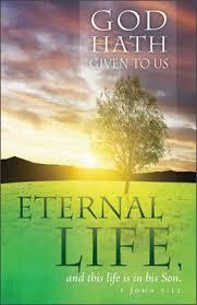 funeral bulletins standard funeral bulletin god hath given us eternal