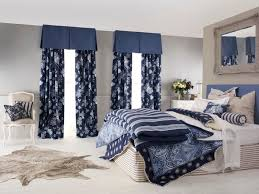 Blue And White Floral Curtains Blue Floral Curtains Bedroom Interior Design Ideas Style Homes