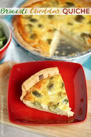 cuisine quiche easy broccoli quiche recipe food folks and
