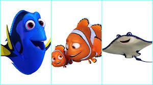 finding dory u0027 cast characters announced otters