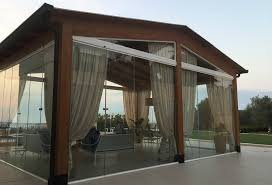 frameless glass doors uk getting ready for summertime with an enclosed gazebo