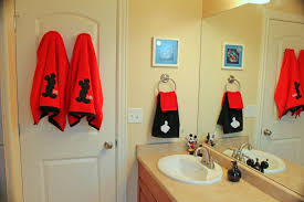 mickey mouse bathroom accessories set target and minnie bathtub
