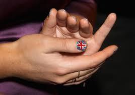 British Flag Nails Fashion Fascinators And Union Jack Nails