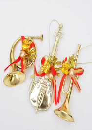 tree ornaments musical instruments best images