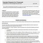 residential construction request for proposal template archives