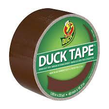 duck tape brand duct tape brown 1 88 in x 20 yd meijer com