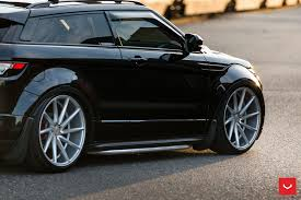 wheels range rover range rover evoque on air suspension vossen cvt wheels vossen