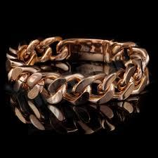 stainless link bracelet images 18k 14mm rose gold cuban link bracelet stainless steel niv 39 s bling jpg