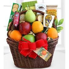 gourmet basket fruitful greeting gourmet basket