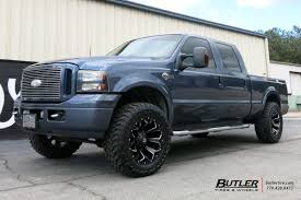 Ford F250 Truck Rims - ford f250 with 20in fuel assault wheels exclusively from butler