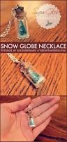 diy snow globe necklace the 36th avenue