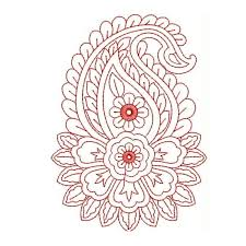 design embroidery red work embroidery designs 6