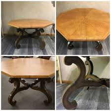 Hammered Copper Dining Table Hammered Copper Finish Dining Table Hometalk