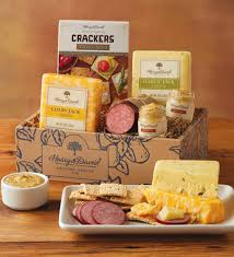 cheese gift box sausage and cheese gift box harry david