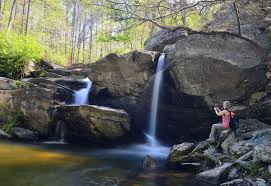 Alabama waterfalls images Hikers enjoy tour of cheaha waterfalls news jpg