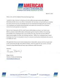 thanksgiving letter to employees customer appreciation letter highland mountain water