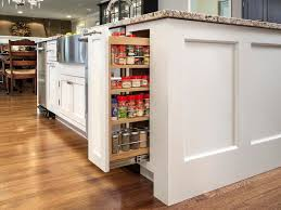 Kitchen Cabinets Spice Rack Pull Out Builder Appreciates Design Service U0026 Quality Cabinetry