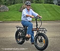 Rad Power Bikes Electric Bike by Gadget Guru Rad Power Bikes Radmini Folding Electric Bicycle Full