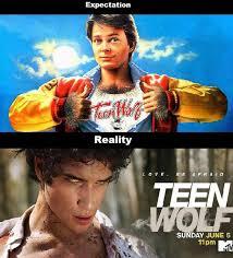 Teen Wolf Meme - seeing that teen wolf is on tv meme guy